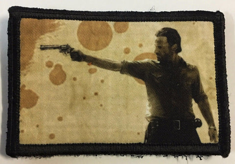 Walking Dead Rick Hook and Loop Patch