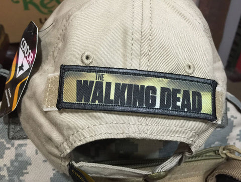 Walking Dead Logo Hook and Loop Patch