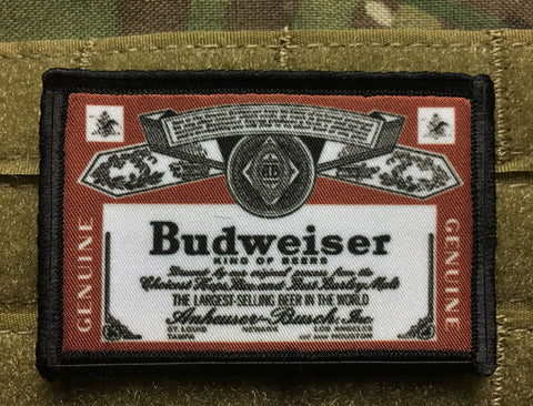 Budweiser Patch
