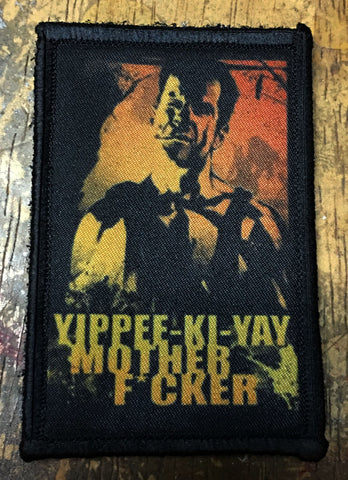 Die Hard Yippe-Ki-Yay Patch