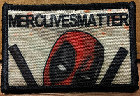 Deadpool #MercLivesMatter Patch