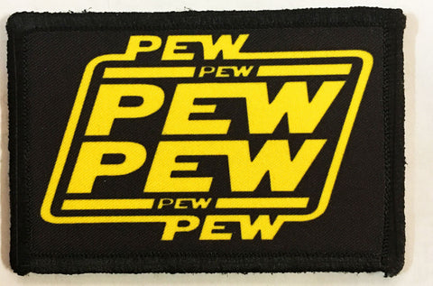 Pew Pew Star Wards Patch