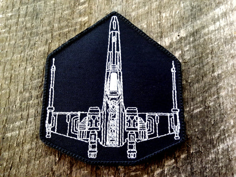 X-Wing Schematic Patch