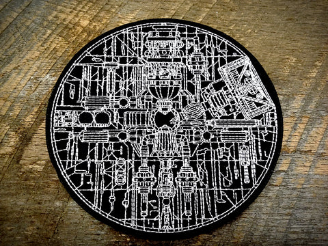 Death Star Schematic Patch