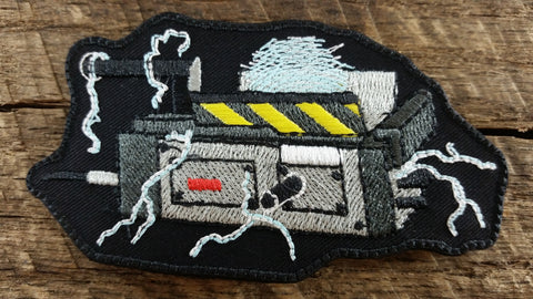 Ghostbusters Ghost Trap (Glow in the Dark) SDS Patch