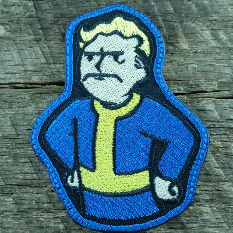 Angry Vault Boy SDS Patch