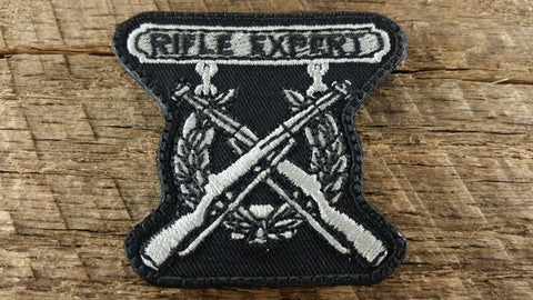 Rifle Expert Marine Badge Patch