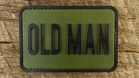 Old Man PVC Patch