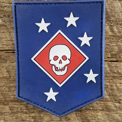 USMC MARSOC Raiders PVC Patch