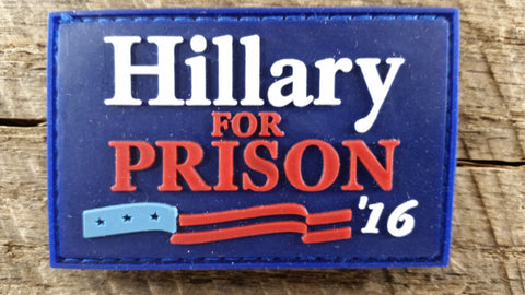 Hillary for Prison Patch