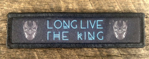 Long Live the King Black Panther Patch