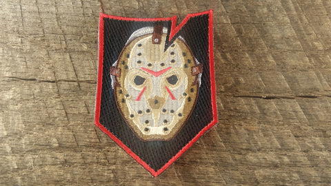Horror Movie Shield Patch