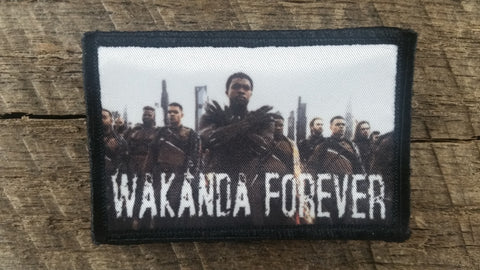 Wakanda Forever Patch