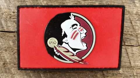 Florida State Seminoles Crimson PVC Patch