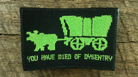 Oregon Trail Dysentry Patch