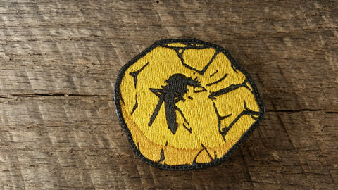 Jurassic Park Amber Mosquito Patch