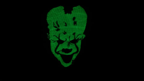 Glow in the Dark Pennywise IT Patch