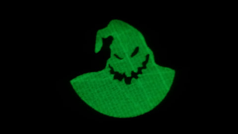 Glow in the Dark Oogie Boogie Patch