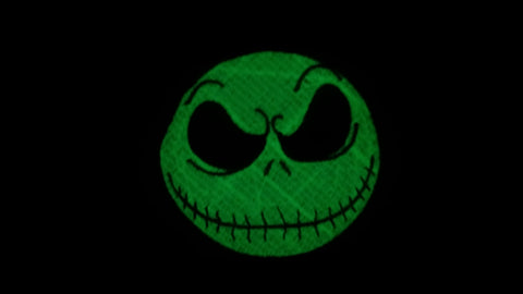 Glow in the Dark Jack Skellington Patch