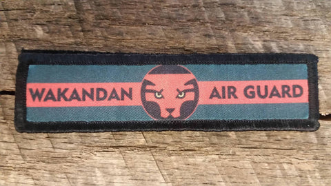 Wakandan Air Guard Hook and Loop Patch