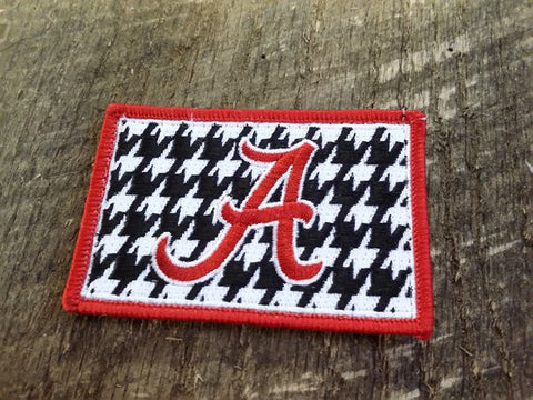 Alabama Football Houndstooth Patch