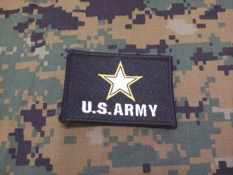 US Army Logo Hook and Loop Patch
