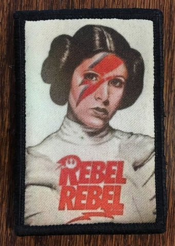 Rebel Rebel Leia Patch