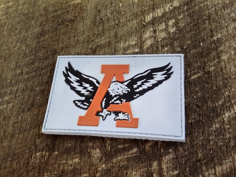 Auburn Tigers White PVC Patch