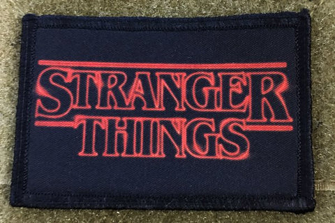 Stranger Things Logo Hook and Loop Patch