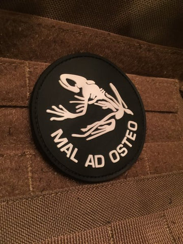 Mal Ad Osteo PVC Patch