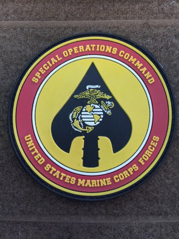 USMC Marines Special Forces Command PVC Patch