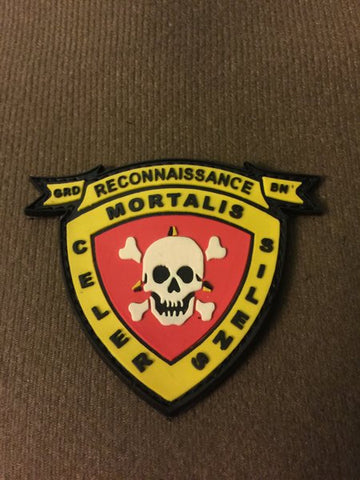 3rd Recon Battlalion Marines PVC Patch