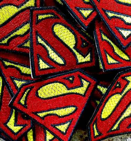 Superman Hook and Loop Patch