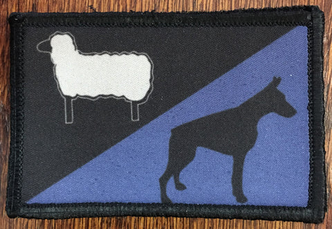 Sheep Dog Police Patch