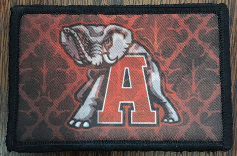 Alabama Football Elephant Patch