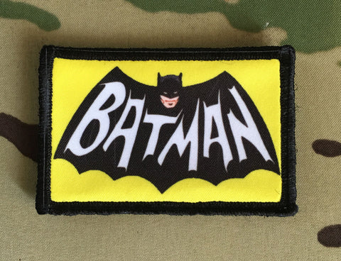Retro Batman Patch