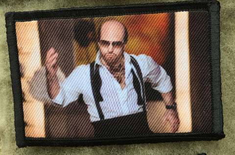 Tropic Thunder Les Grossman Hook and Loop Patch