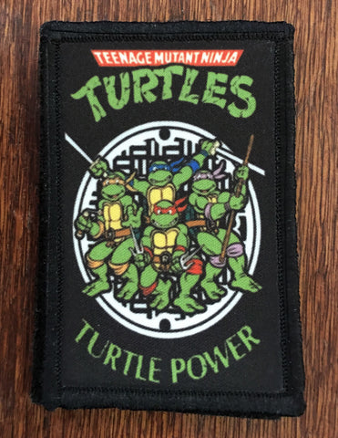 Teenage Mutant Ninja Turtles Hook and Loop Patch