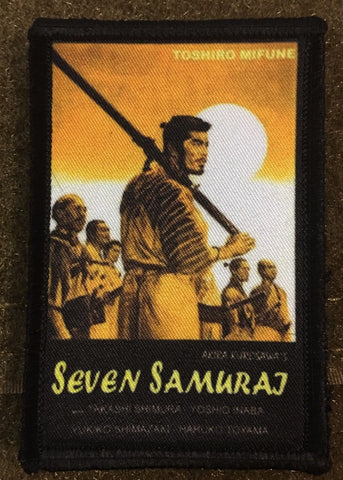 Seven Samurai Movie Poster Patch