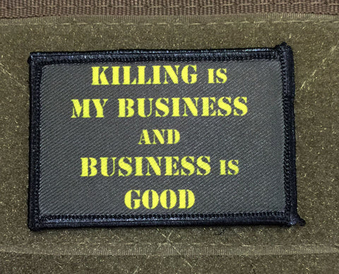 Killing is my Business Patch