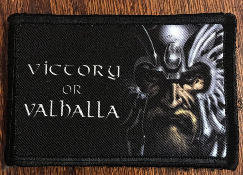 Victory or Valhalla Hook and Loop Patch