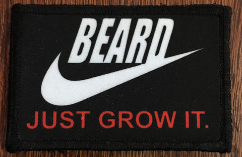 Beard Just Grow It Patch