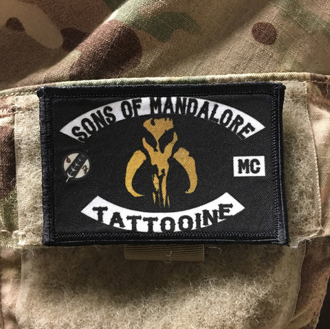 Sons of Mandalore Tattooine Hook and Loop Patch