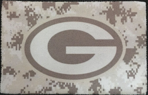 Green Bay Camo Patch