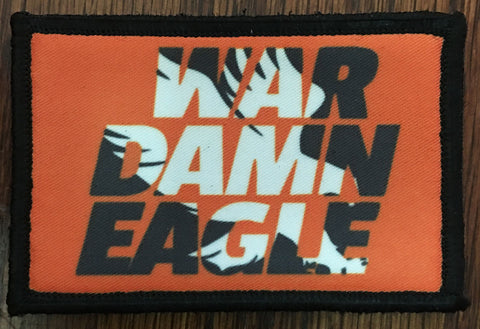 War Damn Eagle Hook and Loop Patch
