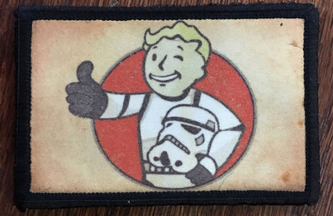 Fallout Vault Boy Stormtrooper Patch