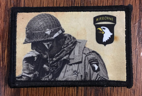 WWII 101st Airborne Hook and Loop Patch