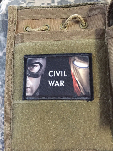 Marvel Civil War Patch
