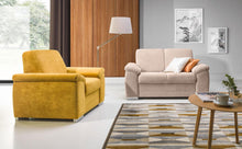 Barrello Sofa SET 3 Seater + Armchair + Footstool Savana 01 base and Savana 02 seating area