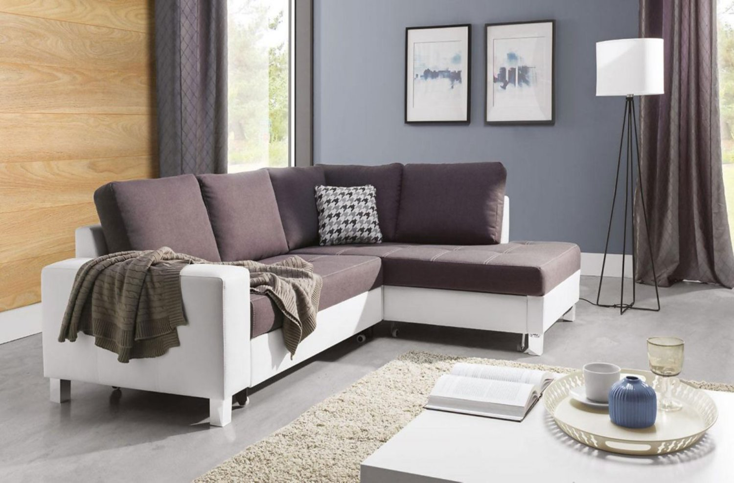 Barro Corner Sofa Bed